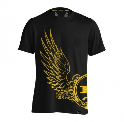 Holler Ruffin Black And Gold T-Shirt