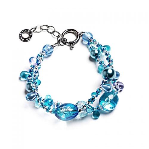 Antica Murrina Blue Bali Secret Bracelet