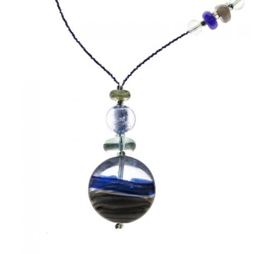 Antica Murrina Niagara Blue Necklace