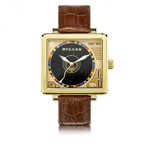 Holler Techno Gold Watch