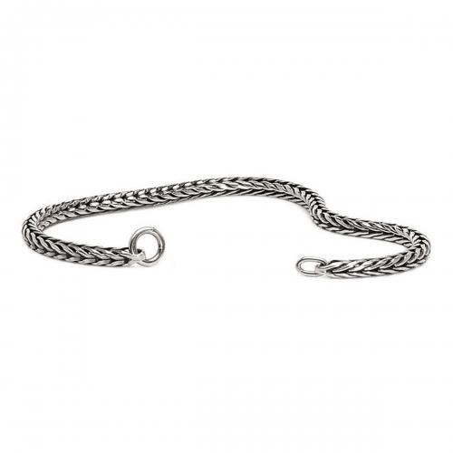 Trollbeads 16cm Sterling Silver Foxtail Bracelet 15218