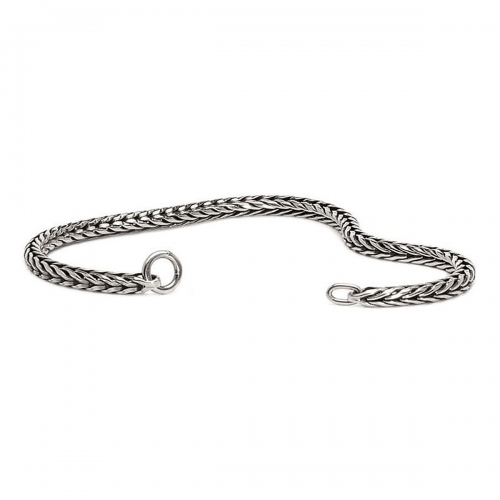 Trollbeads 12cm Sterling Silver Foxtail Bracelet 15214