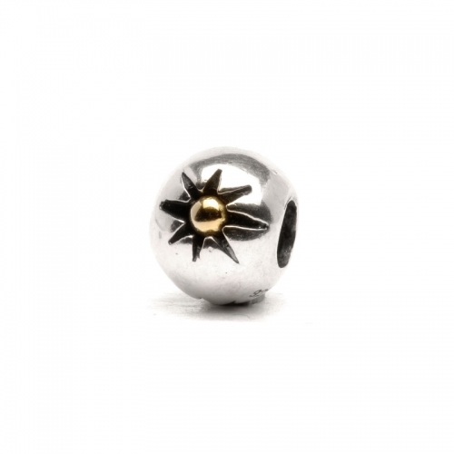 Trollbeads Three Stars Sterling Silver & 18ct Gold Bead 41806