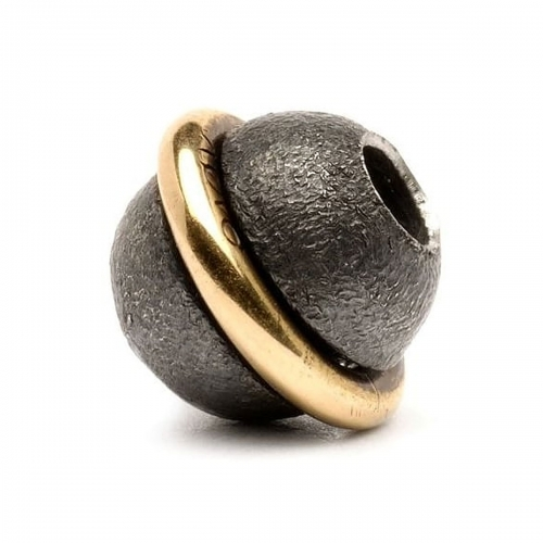Trollbeads Around The World Silver & 18ct Gold Bead 41808