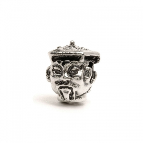 Trollbeads Silver And Gold Nightingale Bead 41815
