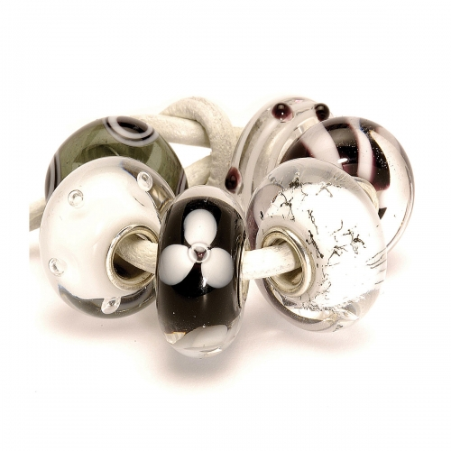 Trollbeads Black & White Kit 63010 (RETIRED)