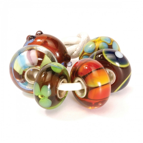Trollbeads Winter Glass Bead Kit 63015 (RETIRED)