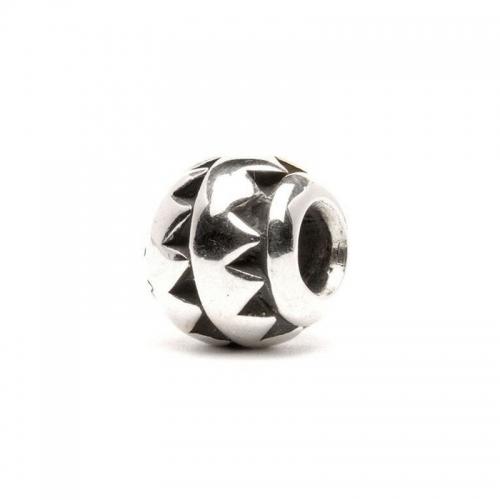 Trollbeads Aztec Silver Bead 11102 (RETIRED)