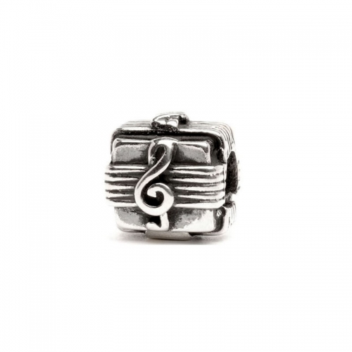 Trollbeads Music Box Silver Bead 11109