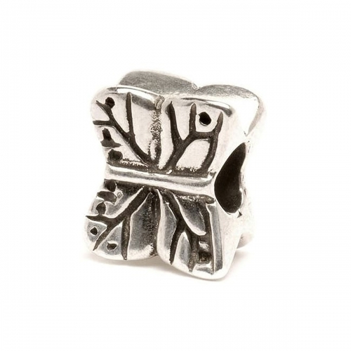 Trollbeads Butterfly Silver Bead 11212