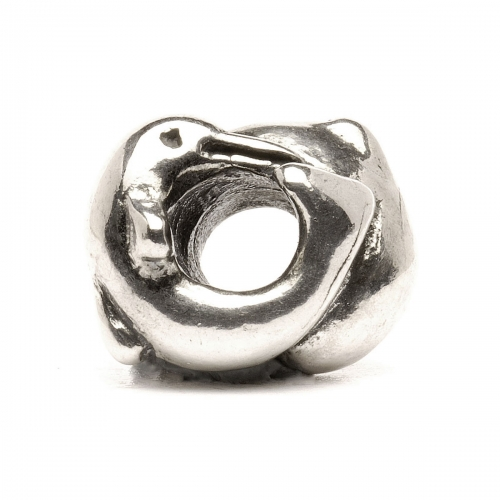 Trollbeads Dolphins Silver Bead 11214