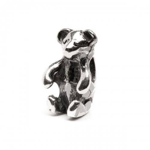 Trollbeads Teddy Bear Silver Bead TAGBE-30081