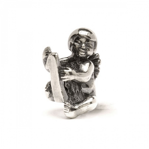 Trollbeads Cherub Number 1 Silver Bead 11322-01