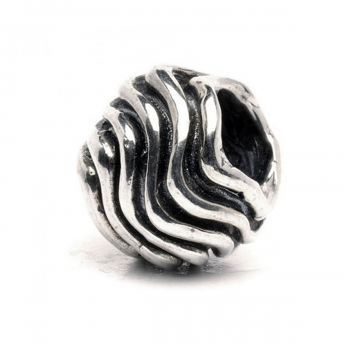 Trollbeads Waves Silver Bead 11401
