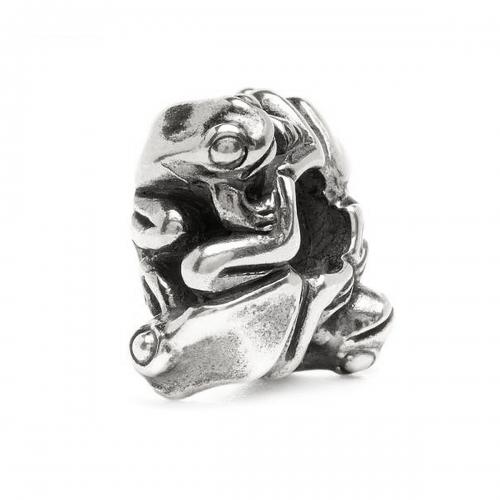 Trollbeads Four Frogs Silver Bead 11430
