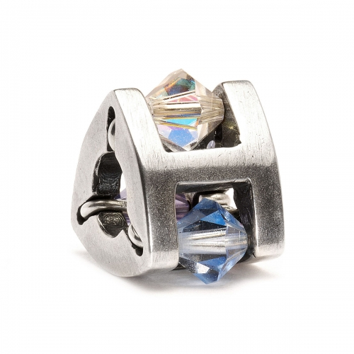 Trollbeads Small Summer Jewel Silver & Swarovski Crystal Bead 61714