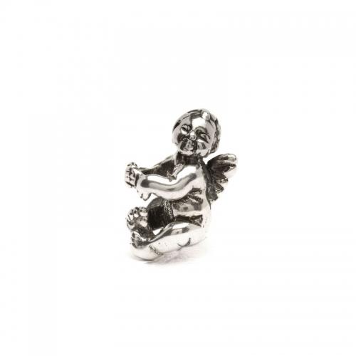 Trollbeads Cherub Silver Bead 11322