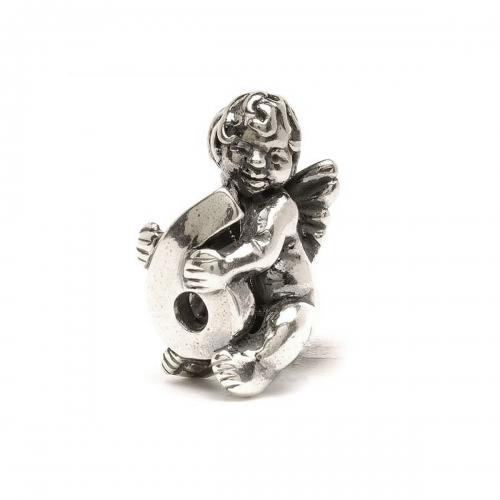 Trollbeads Cherub Number 6 Silver Bead 11322-06