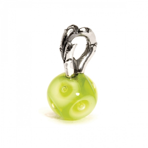 Trollbeads Spring Silver & Glass Bead 61718
