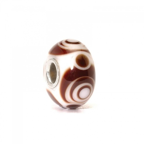 Trollbeads Carly Silver & Glass Bead 61344 (RETIRED)