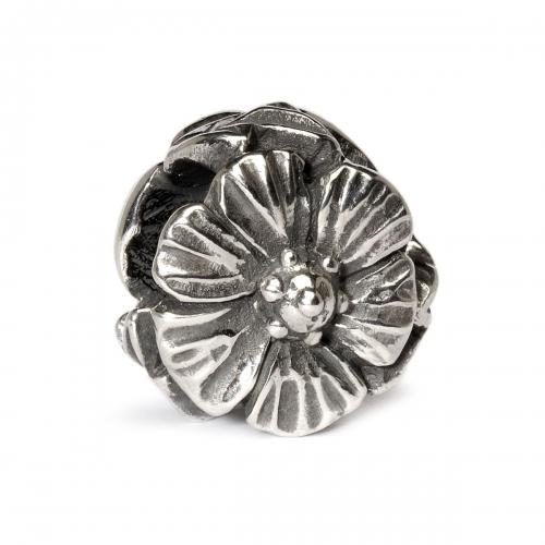 Trollbeads Rose Silver Bead 12304