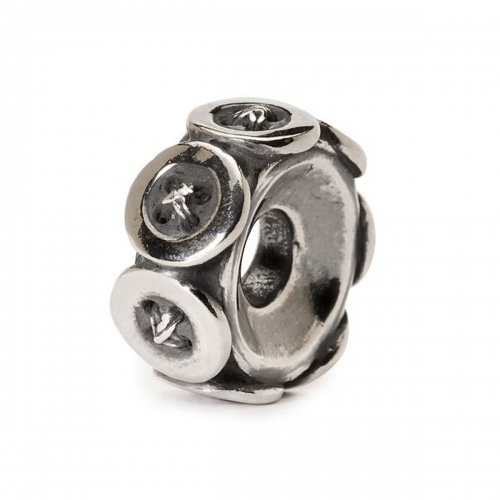 Trollbeads Buttons Silver Bead 11441