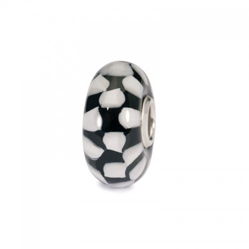 Trollbeads Chess Silver & Glass Bead 61399