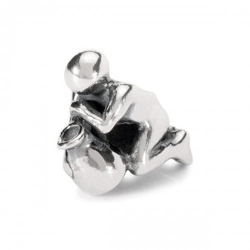 Trollbeads Aquarius Silver Bead TAGBE-30110