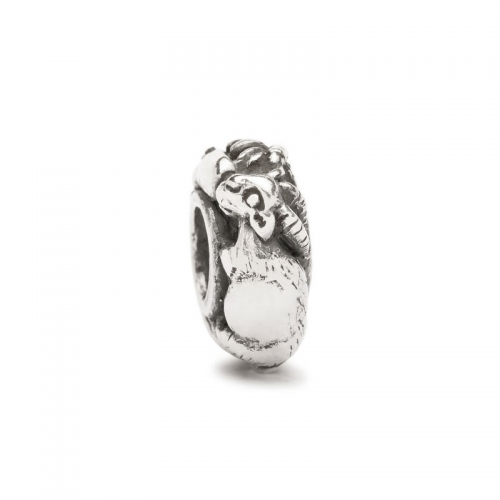 Trollbeads LIMITED EDITION Chinese Zodiac Rooster Goat Bead LE11401-8