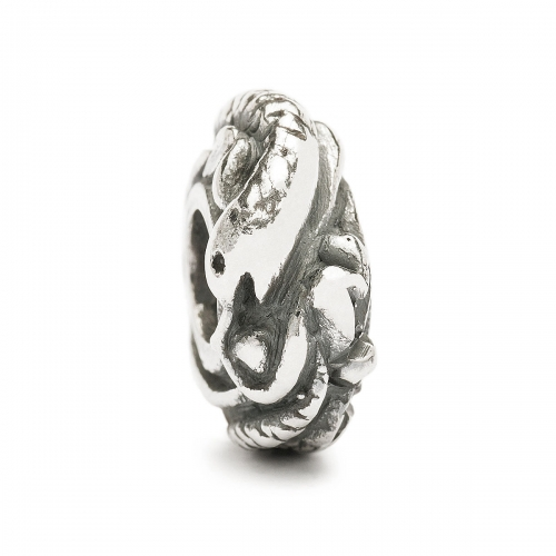 Trollbeads LIMITED EDITION Chinese Zodiac Snake Silver Bead LE11401-6