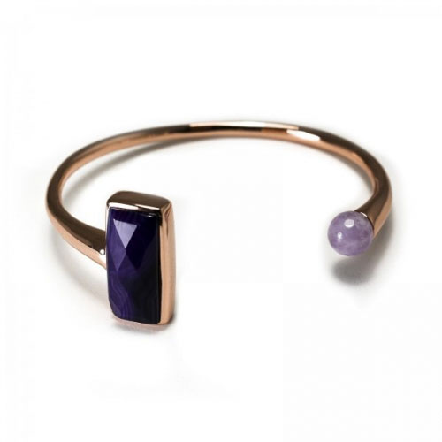 Lola Rose Purple Persian Agate Romilda Bracelet