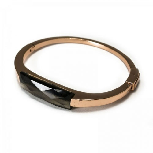 Lola Rose Smokey Obsidain Lutece Bracelet