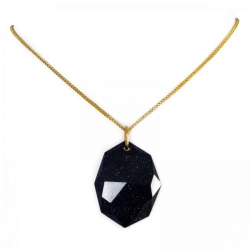 Lola Rose Blue Sandstone Coralie Necklace