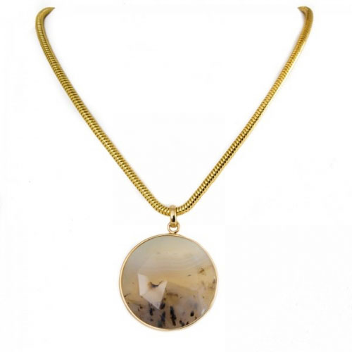 Lola Rose Montana Agate Lillia Necklace