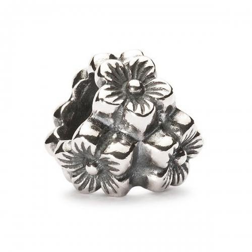 Trollbeads Elderflower Silver Pendant 12306