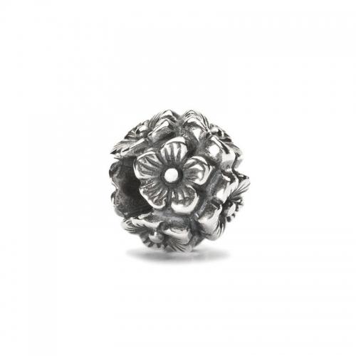 Trollbeads Elderflower Silver Bead 11529