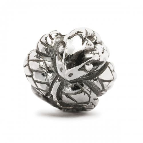 Trollbeads Chinese Zodiac Snake Silver Bead 11458
