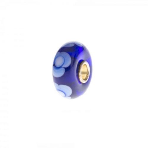 Trollbeads Blue Unique Silver & Glass Bead