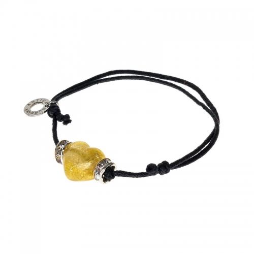 Antica Murrina Infinity Champagne Heart Bracelet