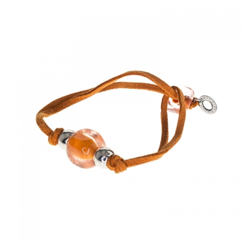 Antica Murrina Deco Orange Bracelet