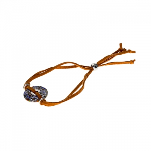 Antica Murrina Aster Orange Bracelet
