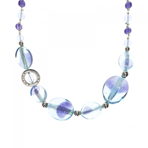 Antica Murrina Aliseo Blue Necklace