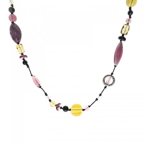 Antia Murrina Bloom Purple Necklace