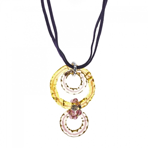 Antica Murrina Great Purple Necklace