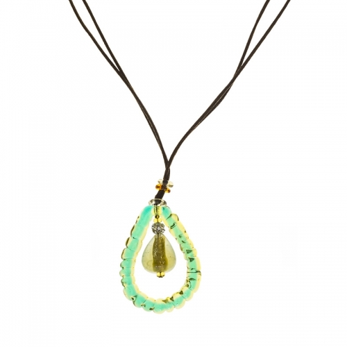 Antica Murrina Great Green Necklace