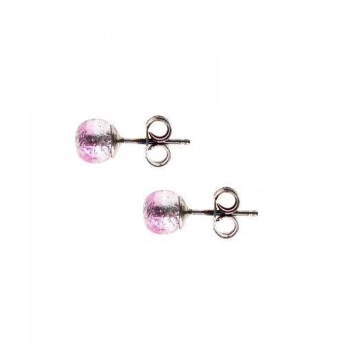 Antica Murrina Caterina, Love Pink Earrings