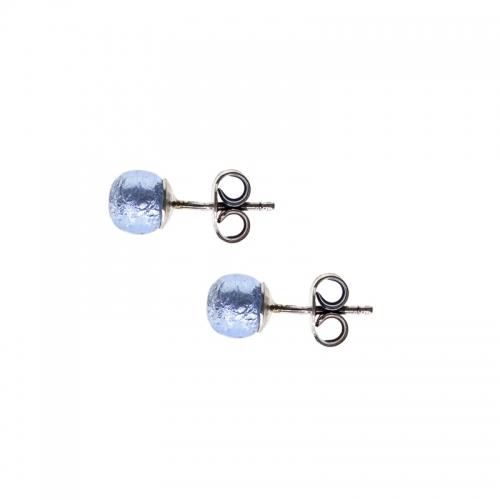 Antica Murrina Caterina, Love Light Blue Earrings