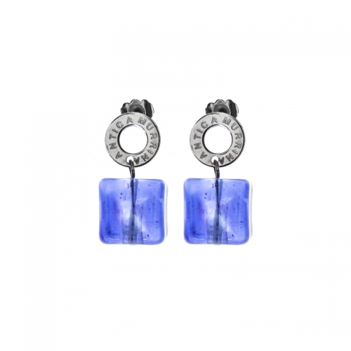 Antica Murrina Ibiza Rocks Purple Earrings