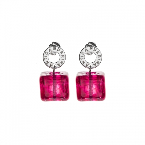 Antica Murrina Ibiza Rocks Pink Earrings
