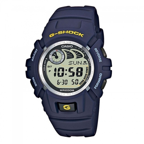 Casio Watches Casio G-Shock Men's Blue Alarm Chronograph Watch G-2900F-2VER